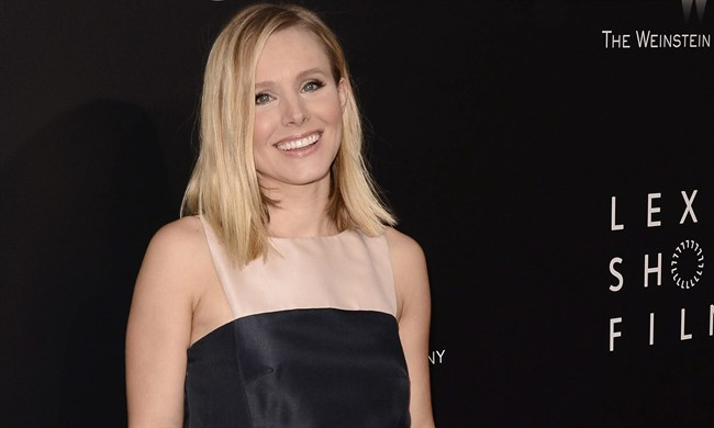 Actress Kristen Bell in a 2014 file photo.