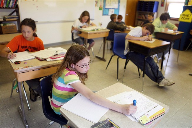 College de Saint-Ambroise, a school of 339 students in the province's Saguenay region, has introduced a near-complete ban on homework.