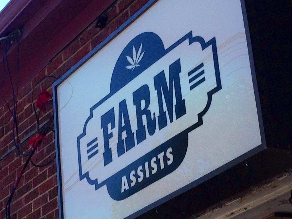 Farm Assists on Gottingen Street is seen in this undated photograph.