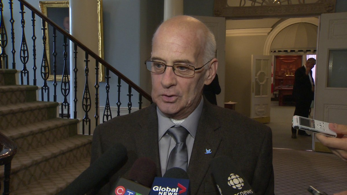 Gordie Gosse, MLA for Sydney-Whitney Pier and former Speaker of the House, was back at work for the opening of the House Thursday.