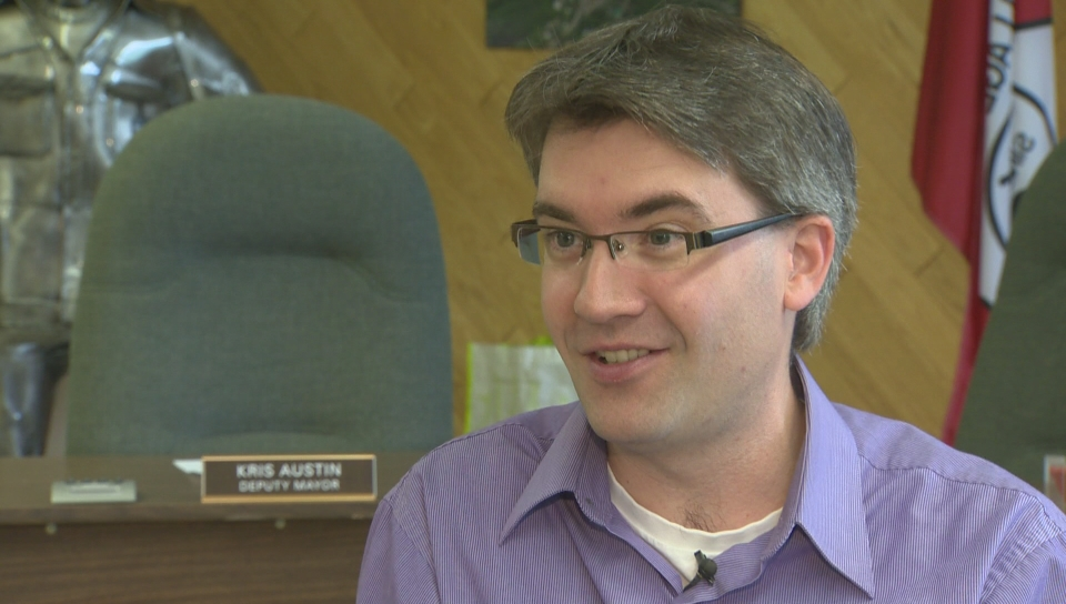 Kris Austin, the leader of the province's People's Alliance party, is pulling for the underdog in the 2014 New Brunswick election.
