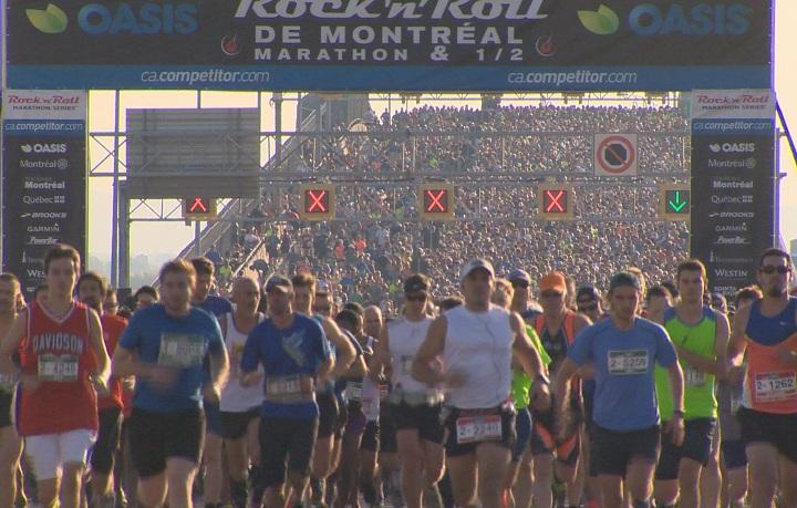 Montreal marathon.