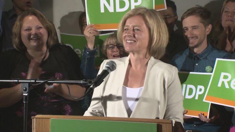 NDP MLA Rachel Notley.