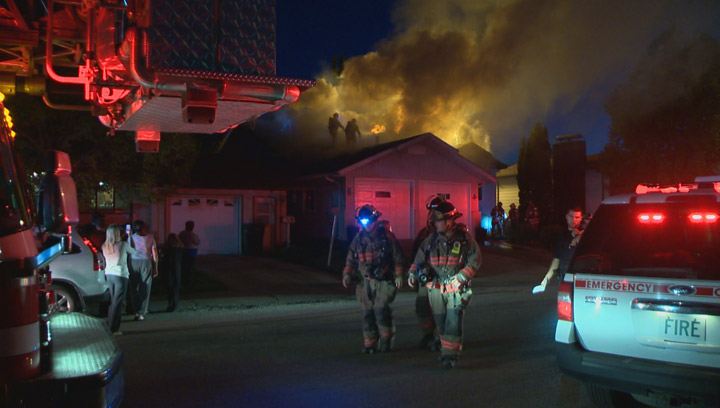 Saskatoon Fire Department pegs damage at $300K after house fire on Makaroff Road in Dundonald.