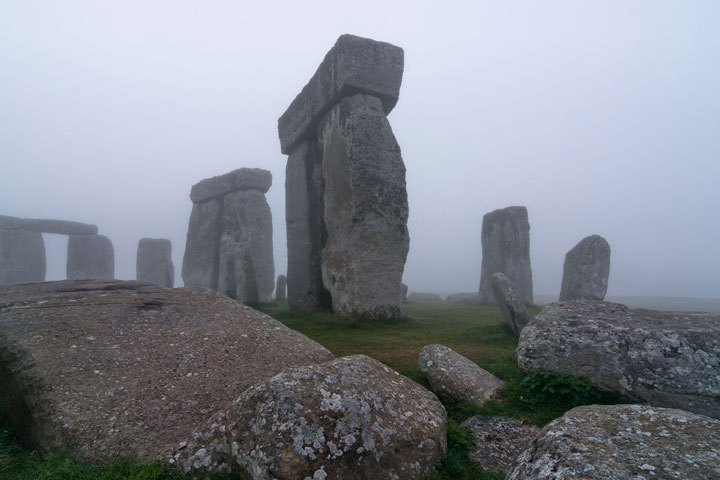 A hidden complex of archaeological monuments has been uncovered at Stonehenge using hi-tech methods of scanning below the Earth's surface.