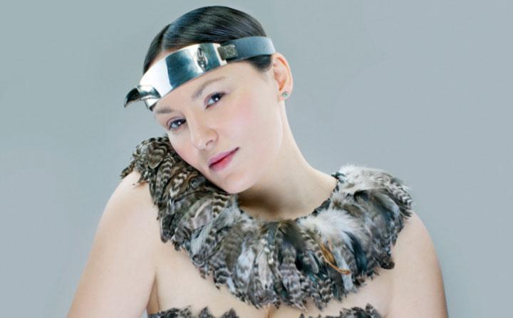 Nunavut throat singer Tanya Tagaq.