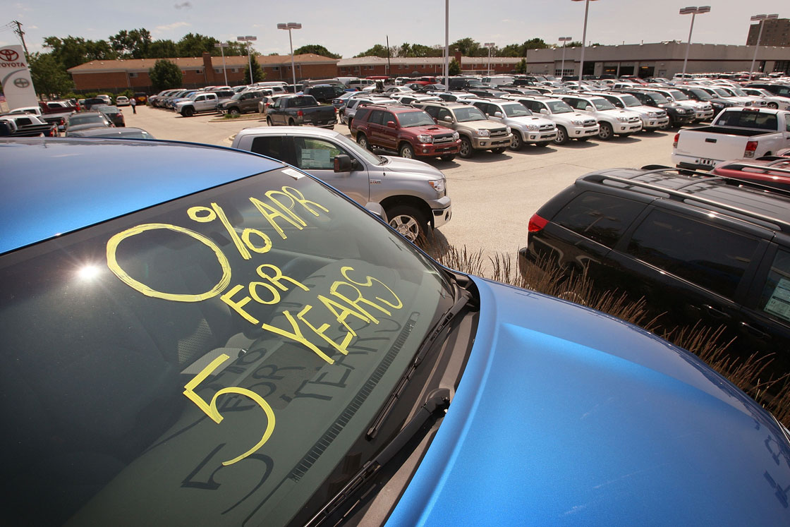 Truck sales were up sharply in August among Canadian dealerships, putting 2014 on pace for the best year for auto sales on record.