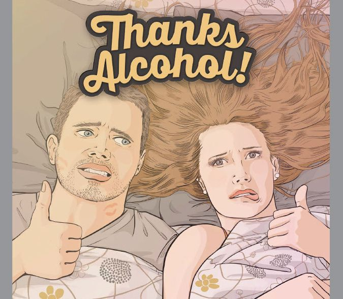 Alberta Gaming and Liquor Commission's 'Thanks Alcohol!' campaign. October 2014.