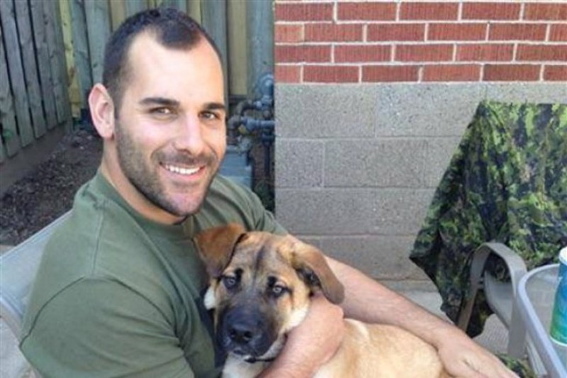 Canadian reservist Cpl. Nathan Cirillo is pictured in an undated photo.