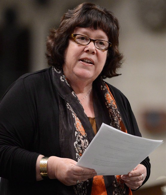 NDP health critic Libby Davies.