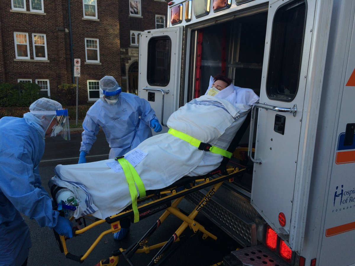 Health care workers are practicing what it would be like if a suspected case of Ebola arrives in Saskatchewan.