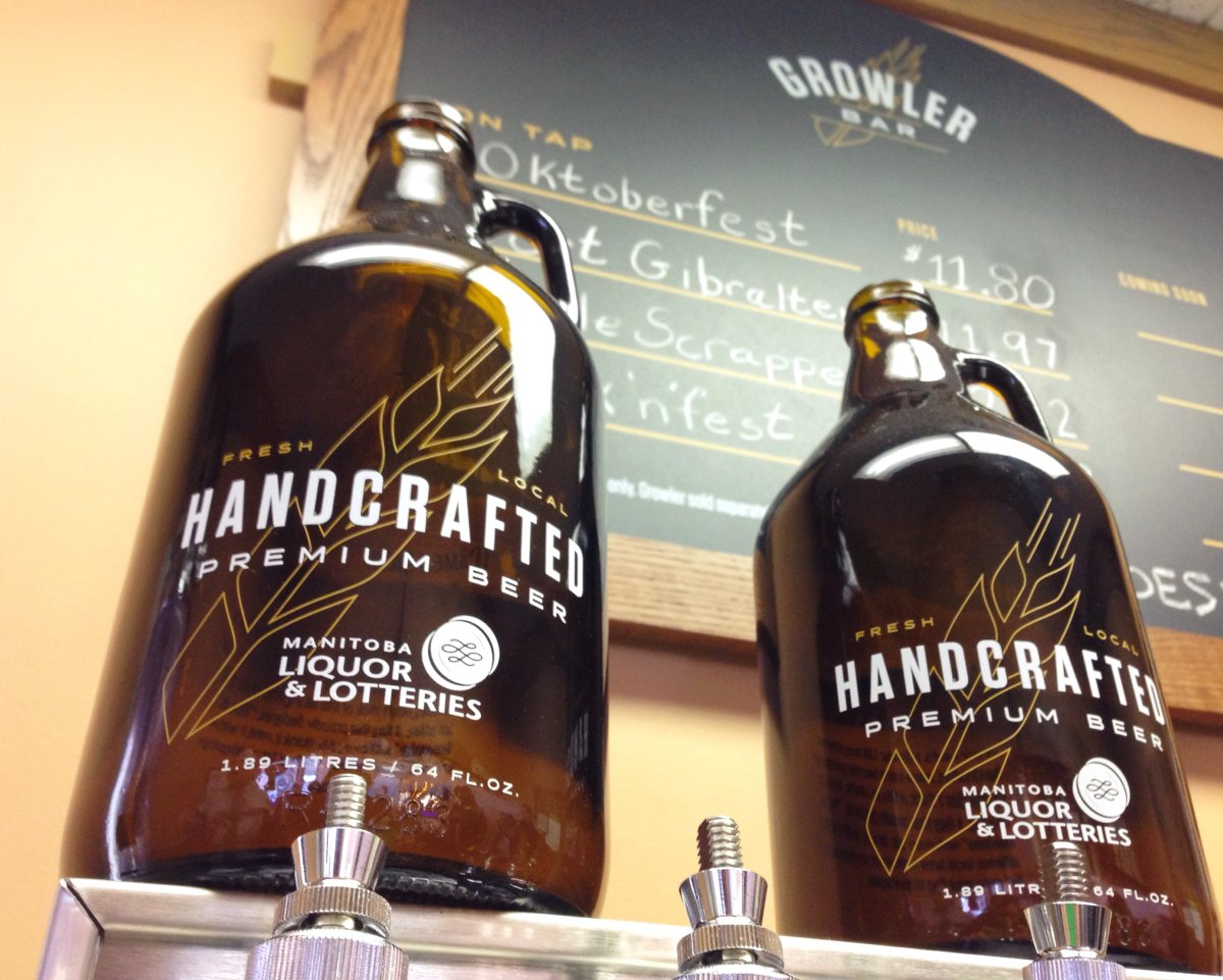 Growlers are a popular choice for beer lovers across Canada, and now Manitobans can enjoy them.