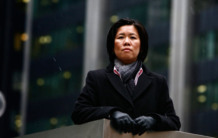 FILE PHOTO: Coun. Kristyn Wong-Tam - Ward 27 Toronto Centre-Rosedale - photographed in downtown Toronto.
