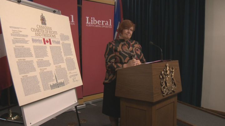 Liberal MLA Laurie Blakeman