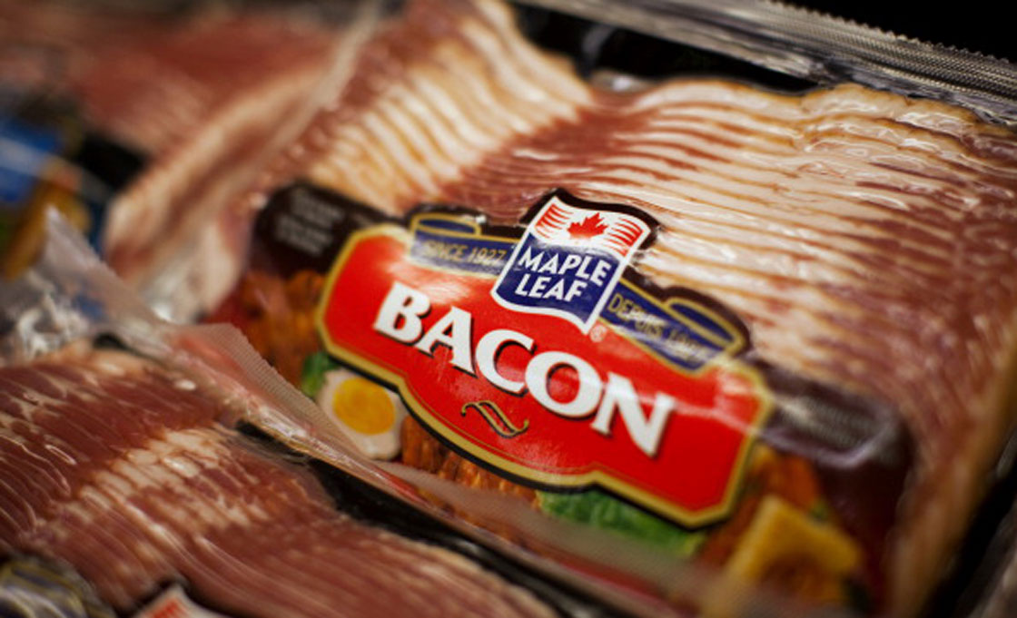 Retail bacon prices are down year-over-year, Statistics Canada data shows.