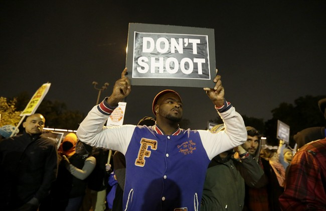 Tensions increase in shooting protests in Missouri