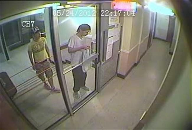 Magnotta surveillance video