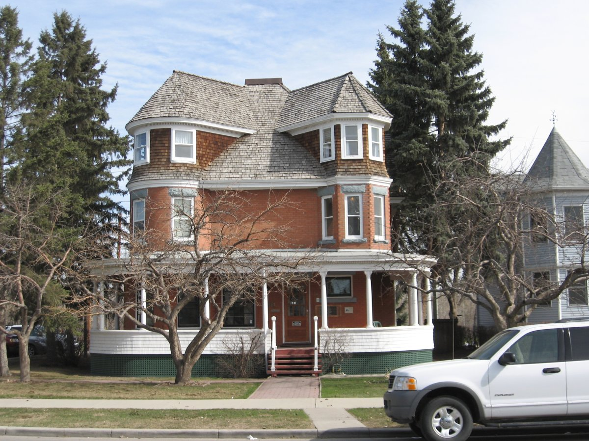 One of Calgary's haunted hot spots - The Suitor House.