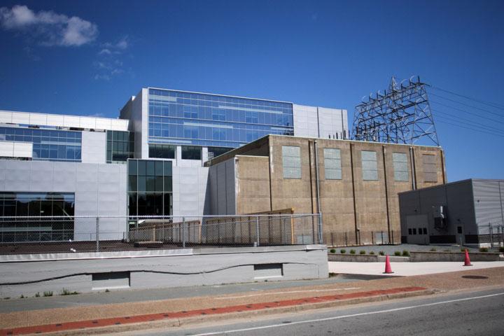 The Nova Scotia Power headquarters located in Halifax, on June 11. 2012.