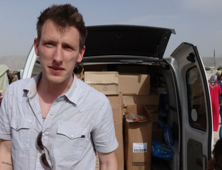 ISIS has threatened the life of U.S. aid worker Peter Kassig