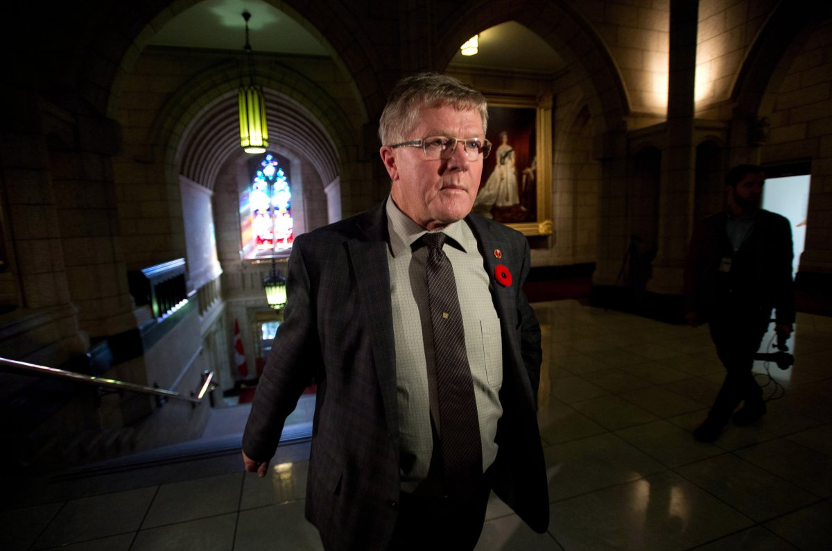 Conservative Sen. Don Plett says he does not support amendments to bill C-51.