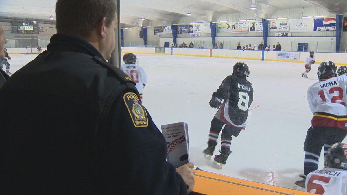 Winnipeg police start monitoring minor hockey games - image