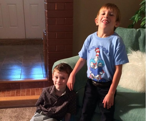Quinn and Brayden are now paying it forward.