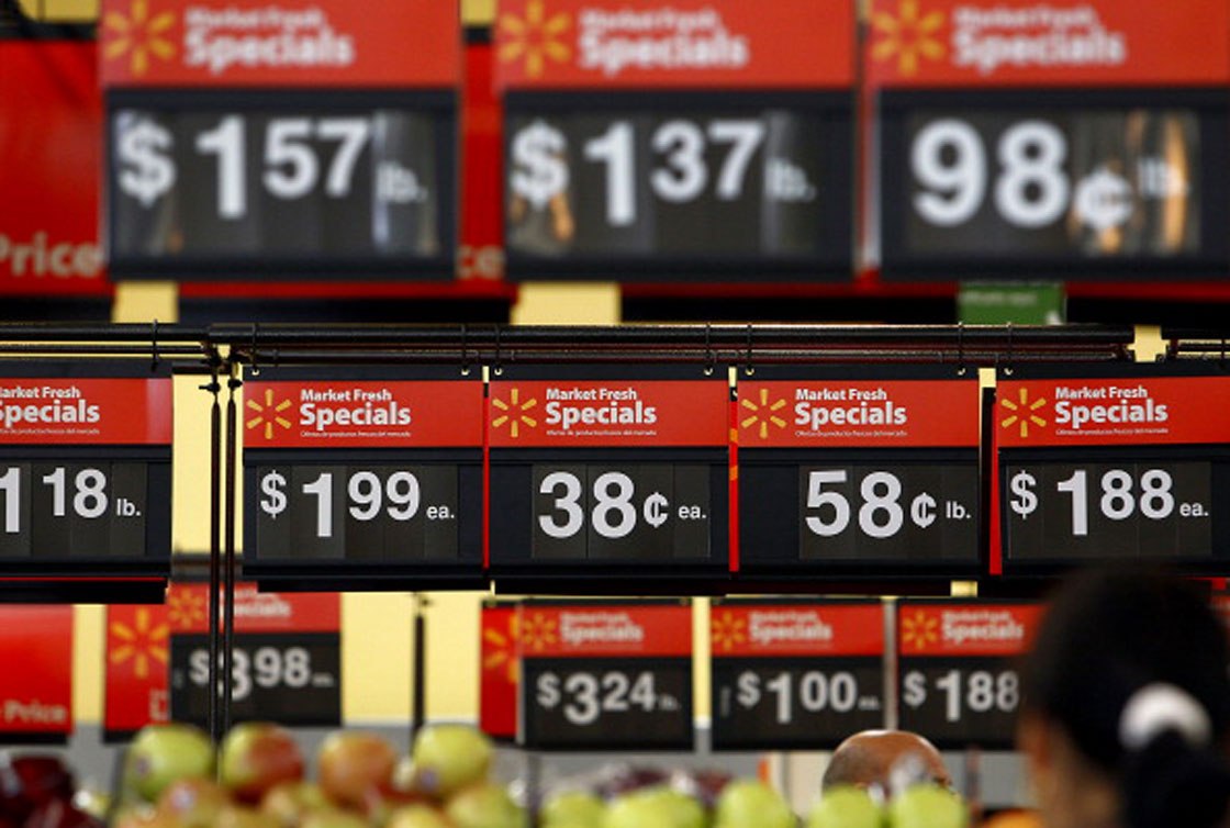 """Walmart has made frequent """"price investments"""" -- cutting prices to drive higher sales -- across its Canada stores, company officials say."""