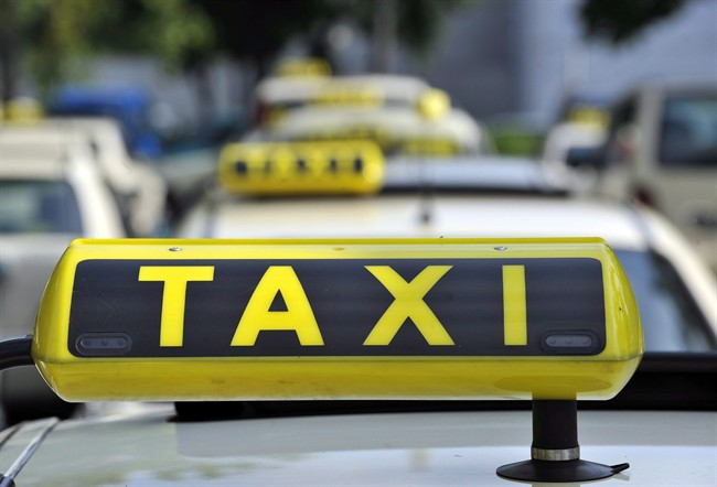 A Vancouver man says he was kicked out of a cab early in the morning after refusing to pay up front.