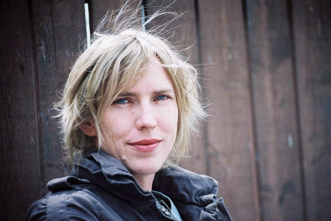 """Author Miriam Toews is shown in an undated handout photo. Toews won the $25,000 Rogers Writers' Trust Fiction Prize for """"All My Puny Sorrows"""" Tuesday night, saying she hopes the heart-wrenching and personal novel about a writer dealing with her suicidal sister will help spark dialogue about such issues."""