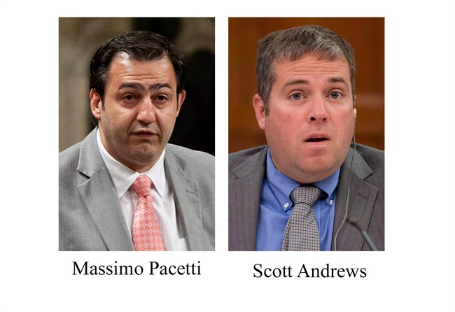 Suspended Liberal MPs