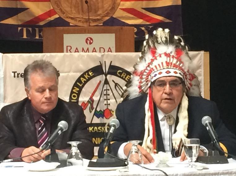 The Onion Lake Cree Nation's case against the transparency legislation was heard in Saskatoon Federal Court last month, and a decision is pending.