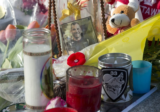 Cpl. Nathan Cirillo and Warrant Officer Patrice Vincent have been name Newsmaker of the Year by The Canadian Press,.