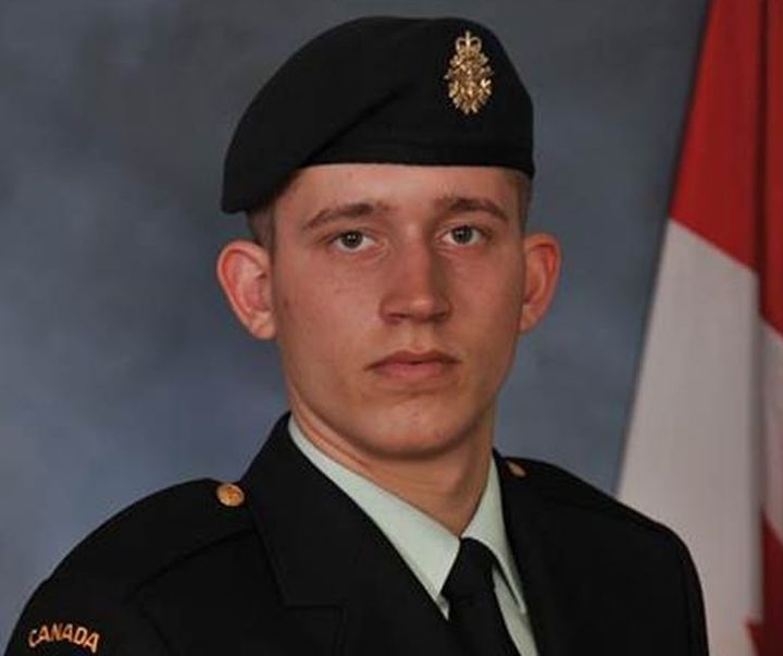 Private Steven Allen of Victoria died following an accident during a training exercise in Wainwright, Alta Monday, Nov. 3, 2014.