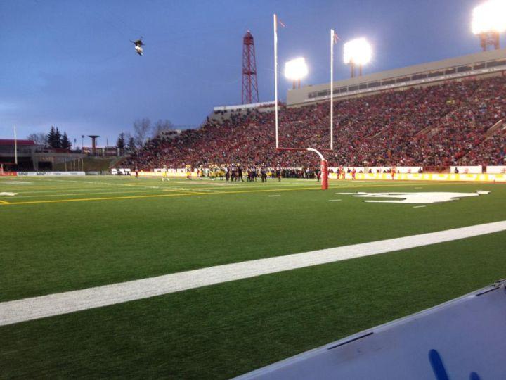 McMahon Stadium on Sunday, Nov. 23, 2014.