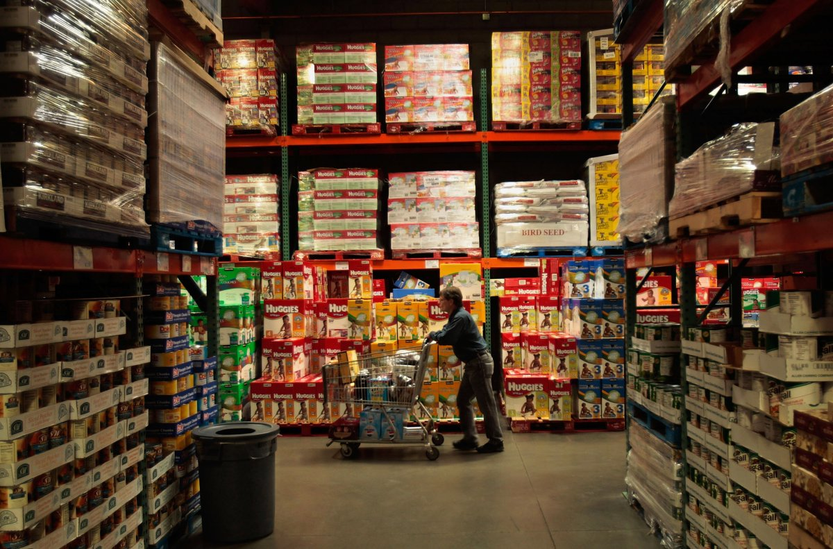 Costco has been growing food sales at it Canadian warehouses at a faster clip than grocers or Walmart in recent years.