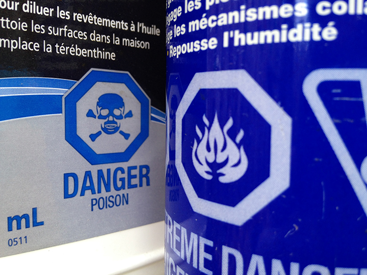 Properly storing paint and other dangerous chemicals is one way you can make your home safer.