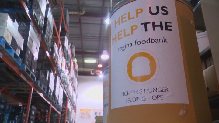 Regina Food Bank experiencing massive surge in demand due to COVID-19, recording 110,000 points of service.