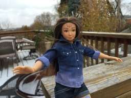 Continue reading: A normal-sized Barbie doll with acne and cellulite? 'It's natural'