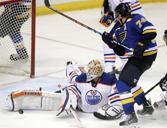 Oilers fall 4-3 in OT against Blues - image