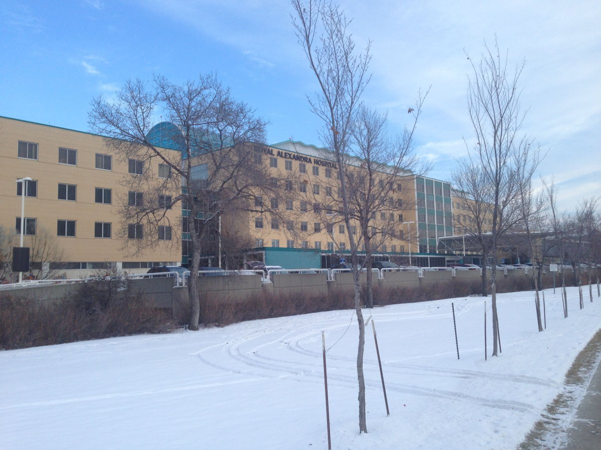 Royal Alexandra Hospital.