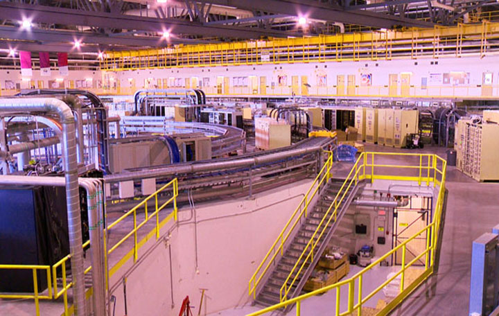 The synchrotron, Canada's light source, has sent off its first shipment of non-nuclear produced medical isotopes.