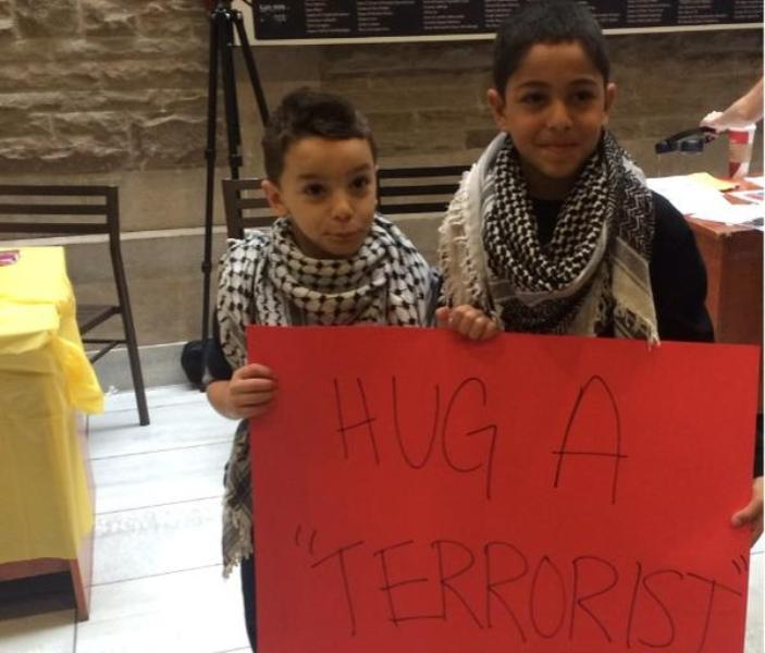 A controversial pro-Palestinian campaign was held at McMaster University in Hamilton, Ont. Thursday aimed at raising awareness of the civilian deaths in Gaza.