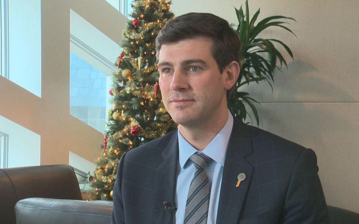 Edmonton mayor Don Iveson in his year-end interview with Global News.