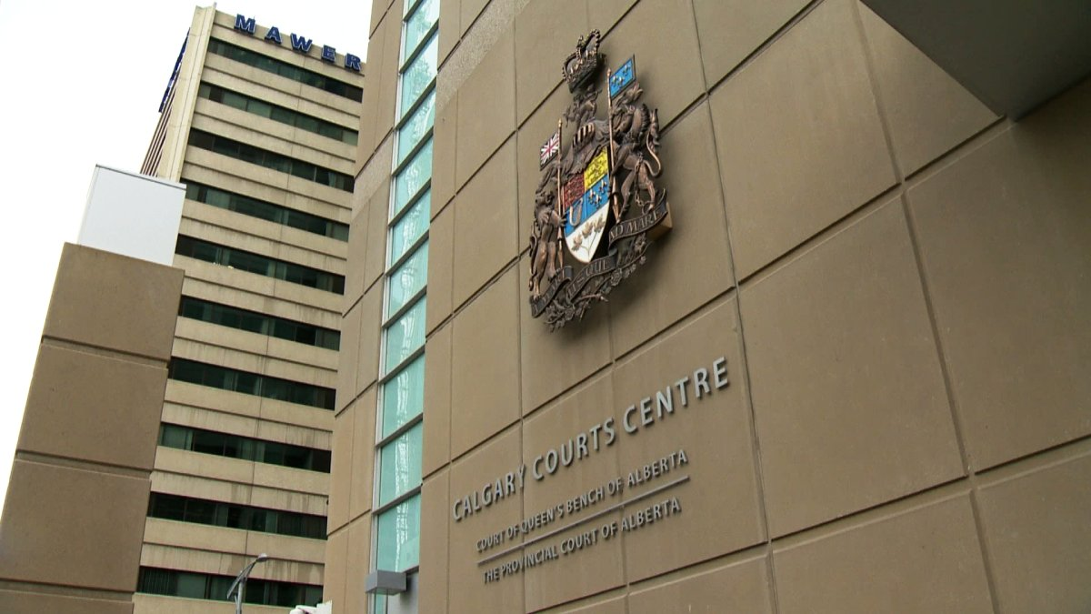 FILE: The exterior of the Calgary Courts Centre in downtown Calgary.
