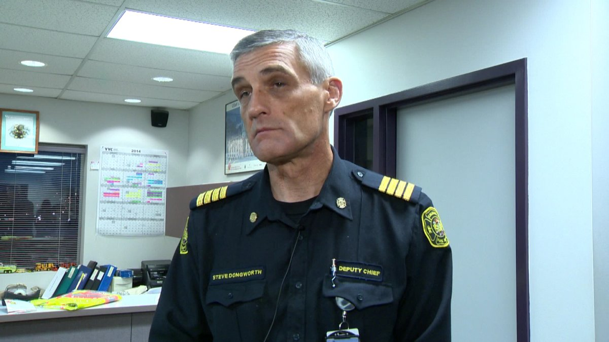 A file photo of Calgary Fire Chief Steve Dongworth.