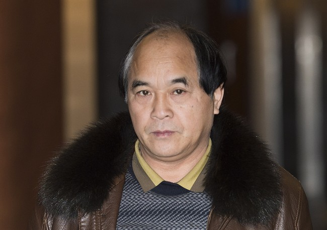 Diran Lin, father of Jun Lin, is shown at the Montreal Courthouse on the sixth day of jury deliberations in the murder trial for Luka Magnotta, December 21, 2014.