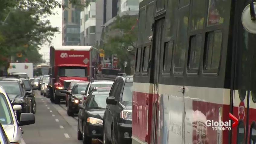 Mayor Tory announced MoveTO on Thursday to better transportation in Toronto.