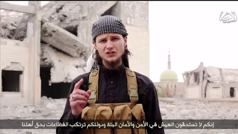 John Maguire, a 24-year-old Muslim convert and ISIS follower, appeared in a propaganda video released Sunday, encouraging lone-wolf attacks on Canadian soil like the ones carried out in Ottawa and Saint-Jean-sur-Richelieu, Que., in October.