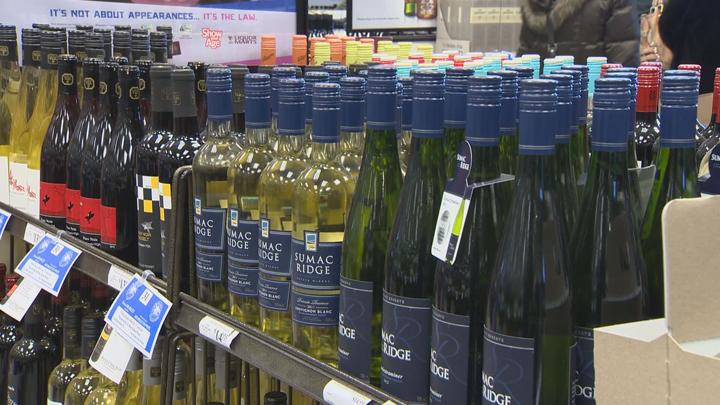 Manitoba Liquor Mart wine